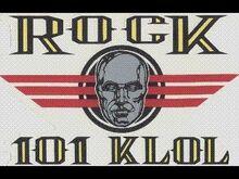 Rock 101 KLOL 1993 logo