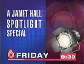 WBRC Channel 6 promo for Janet Hall Spotlight Special 1995