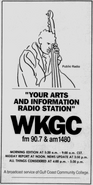 WKGC - 1988 - Arts & Information -September 30, 1988-