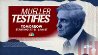 """Mueller Testifies"" promo from NBC Nightly News"