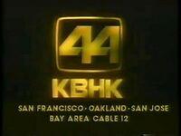 KBHK-TV 44 1980s