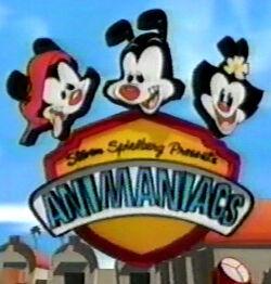 KidsWB Animaniacs logo 1998-99
