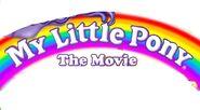 MLP The Movie 80s dvd