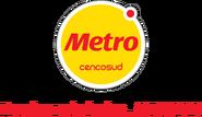 Metro logo 2013 con eslogan (2018-presente)