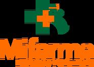 MiFarma logo 2005 apilado