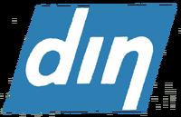 Din first logo