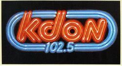 KDON 102.5 logo