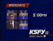 KSFY-TV Jeopardy 10 year promo 1993-1994