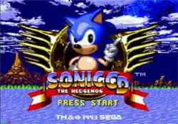 SonicCDTitlescreen1993