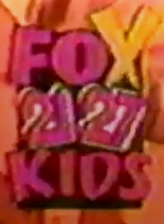 WFXR WJPR Fox Kids Screenbug