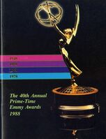 40th Primetime Emmy Awards poster