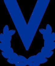 Logo de venevision - general azul