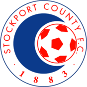 Stockport County FC logo (1989-1991)