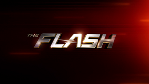 The Flash season 4 title card