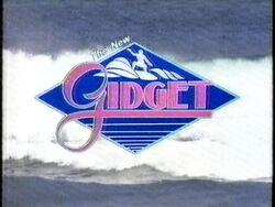 The New Gidget Logo