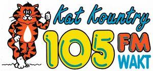 WAKT - Kat Kountry 105 FM - 1994