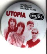 WPLJ-FM's 95.5's The Dr. Pepper 1982 Music Festival, Utopia Promo For 1982