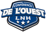 Conférence de l'Ouest (LNH) logo