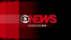 Jornal GloboNews - Edição das 07h vinheta 2013