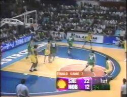 PBA on Vintage Sports short scorebug 1998 Govs Cup semis and finals