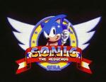Sega Sonic Title Screen 2