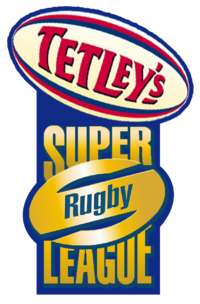 2003 Tetley's Super League logo