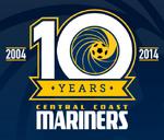 Central Coast Mariners logo (10th anniversary)