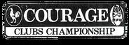Courage Clubs Championship print logo