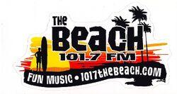 KCDU The Beach 101.7