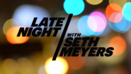 Late Night With Seth Meyers Intertitle