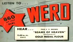 WERD Atlanta 1949