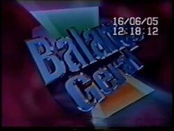 Balanço Geral 2004