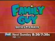 Family Guy series premiere promo (late 1998)