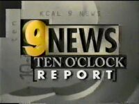 KCAL 10pm 1996 Open