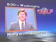 KSAT-TV's Hollywood Squares ID From Late 1986