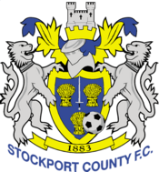 Stockport County FC logo (2010-2011)