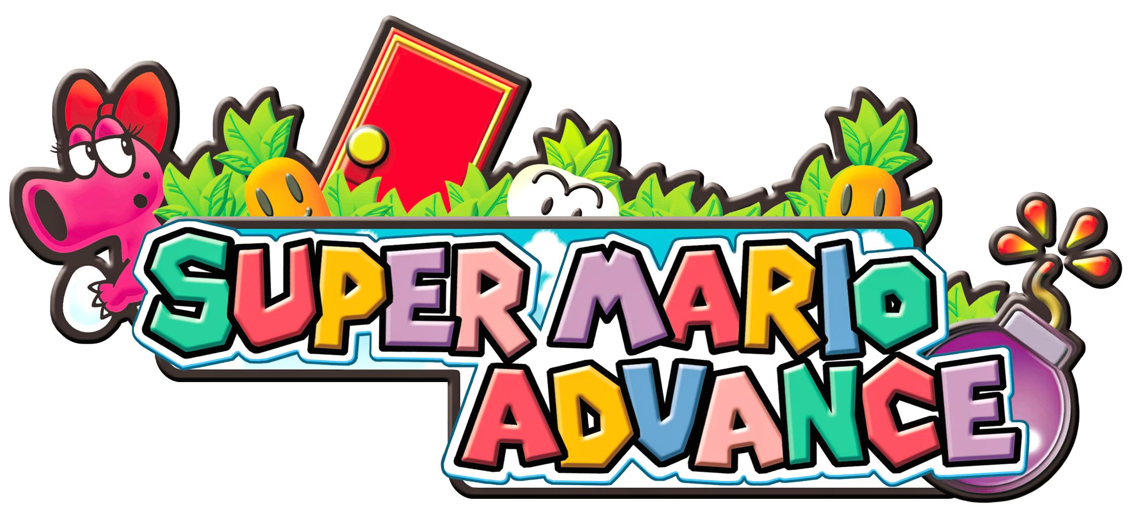 Image result for super mario advance logo