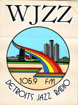 WJZZ 105.9FM logo