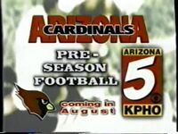 7161996 KPHO Channel 5 CBS News teases and Football promo 3
