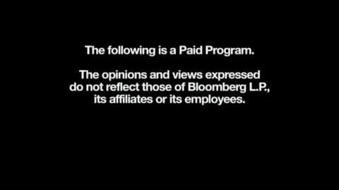 Bloomberg Paid Programming Intro Outro Disclaimer (20??-present)