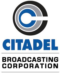 Citadel Broadcasting logo