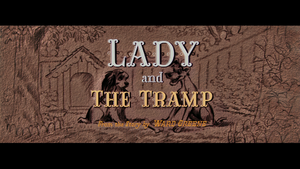 Lady and the Tramp 1955 Logo