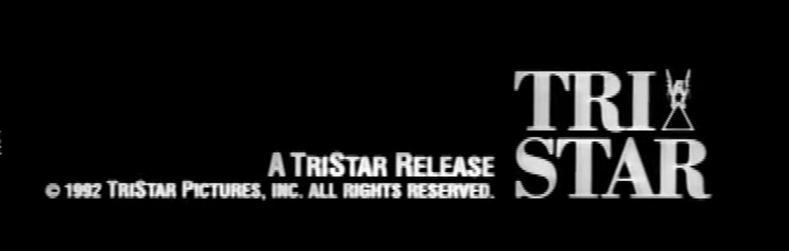 TriStar Pictures Trailer Print logo Cliffhanger