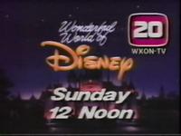 Disney WXON 1989