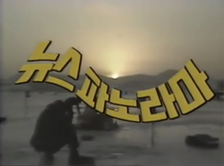 KBS News Panorama 1981