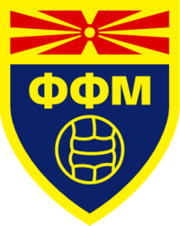 Macedonian Football Federation logo (used until 2014)