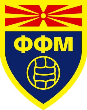 Macedonian Football Federation logo (used until 2014)