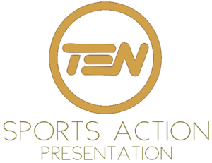 Ten sports action logo 1987-0
