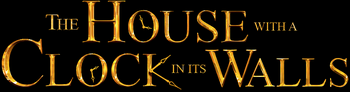 The House with a Clock in its Walls logo