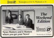 The KMIZ-TV Weekend News Team